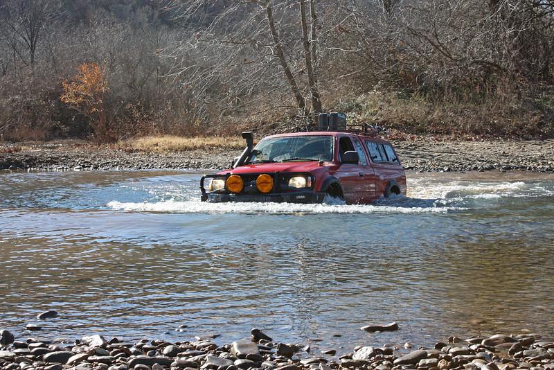 Buffalo River (Woolum) crossing - 16
