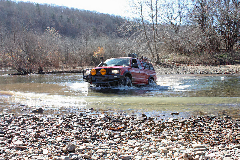 Buffalo River (Woolum) crossing - 20