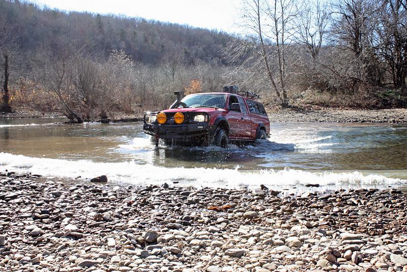 Buffalo River (Woolum) crossing - 21