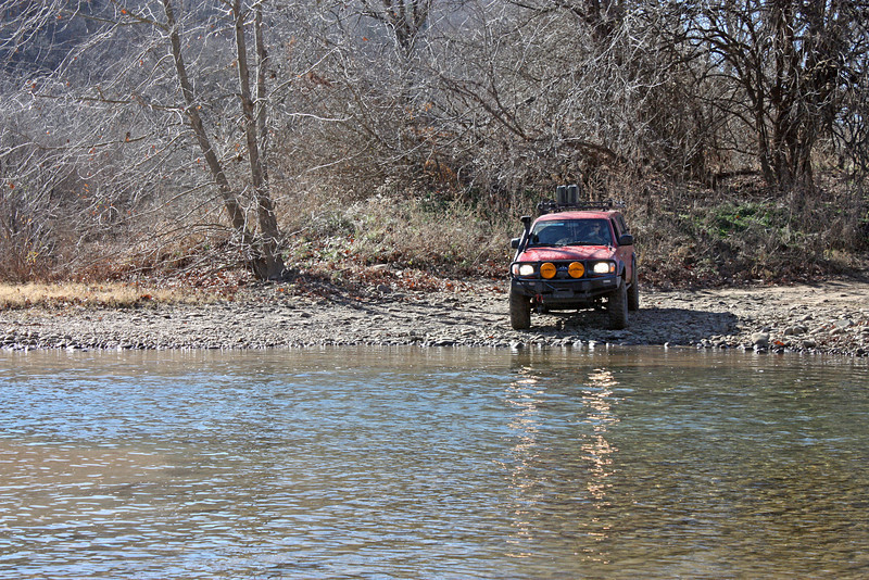Buffalo River (Woolum) crossing - 3
