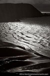 FRANCE. COTENTIN. La baie d'Ecalgrain.