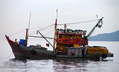 Fishing Boat in Kota Kinabalu