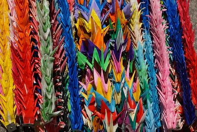 Paper Cranes in Japan
