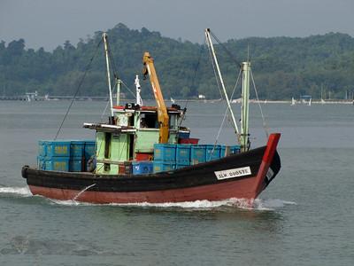 Fishing Boat in Malaysia
