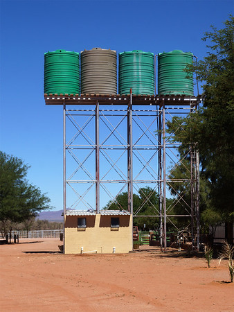 Water Tanks in Namibia
