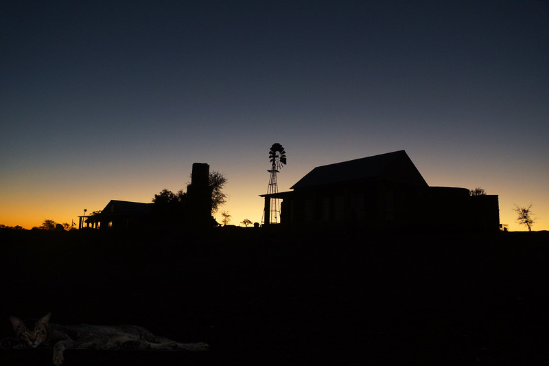 Alte Kalköfen Lodge - Dusk - Namibia