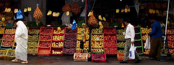 Fruit & Vegetable Market Stall