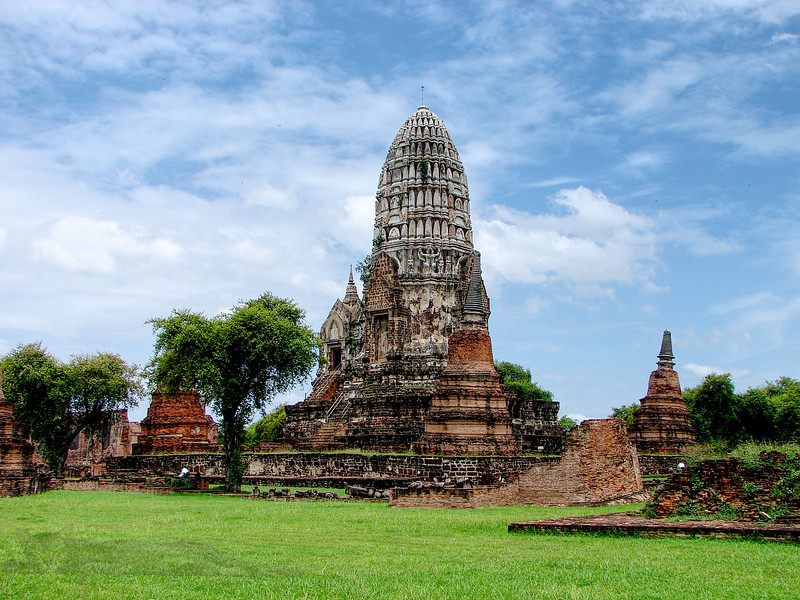 Ayutthaya - Beautiful Relics in Ayutthaya (อยุธยา), Thailand