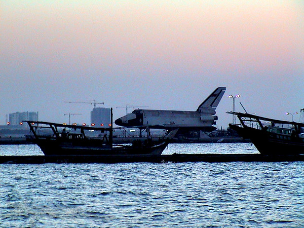 The Russian Space Shuttle Resting in Bahrain
