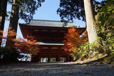 Gate at Koyasan