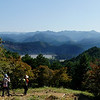 View towards Hongu from Kumano Kodo Trail