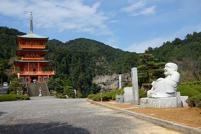 Pagoda, Ebisu Buddha at Nachi