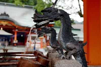 Dragon Drinking Fountain - Temple