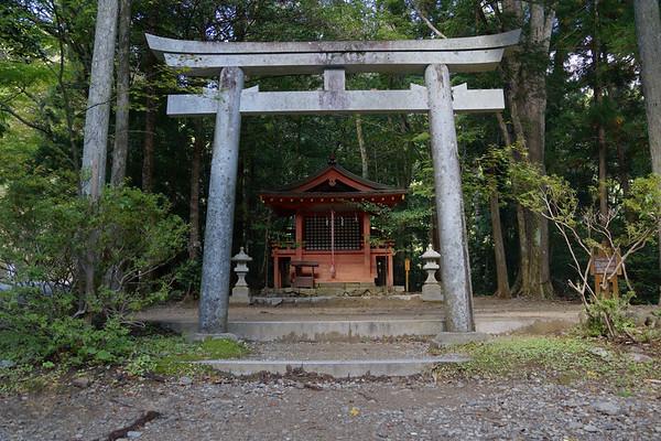 Kumano Kodo - Torii (Gate) and Shrine