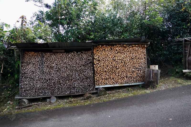 Firewood - Kumano Kodo