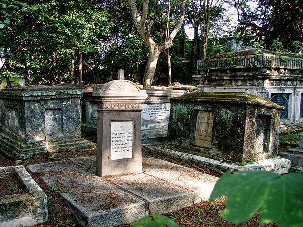 George Town Cemetery - Malaysia