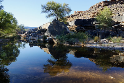 Fish River - Down in the Canyon