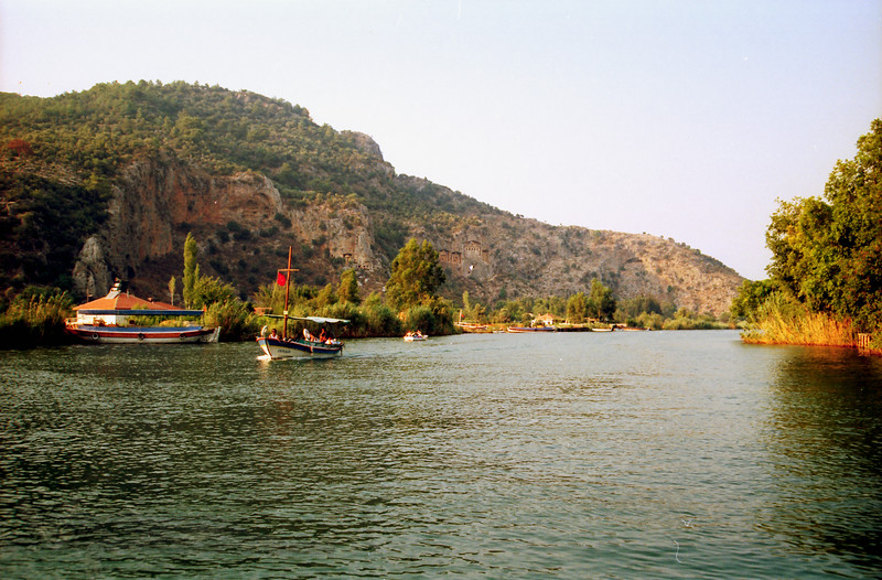 Kaunos Rock Tombs - Dalyan River - Turkey