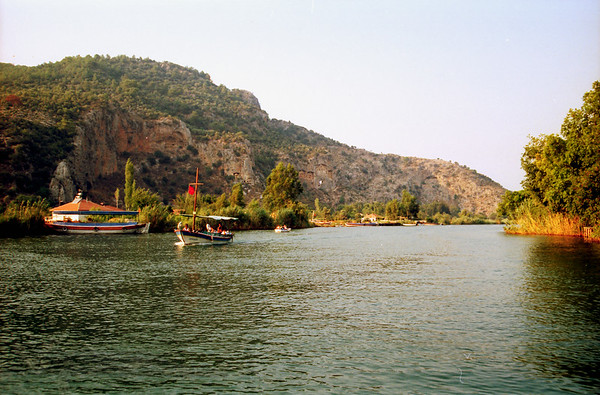 Kaunos Rock Tombs - Dalyan River - Turkey