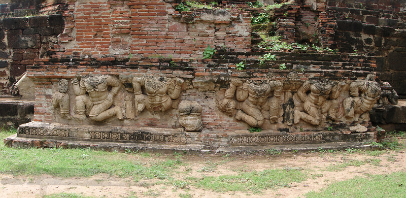 Sculptures in Ayutthaya (อยุธยา)