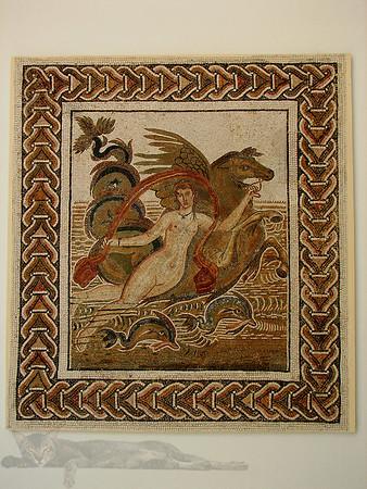 Roman Mosaic in Tunisia