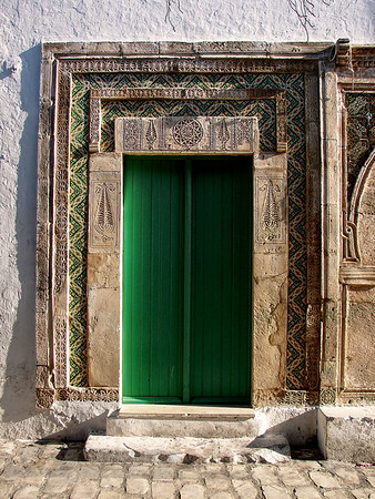 Doorway in Mahdia - Tunisia