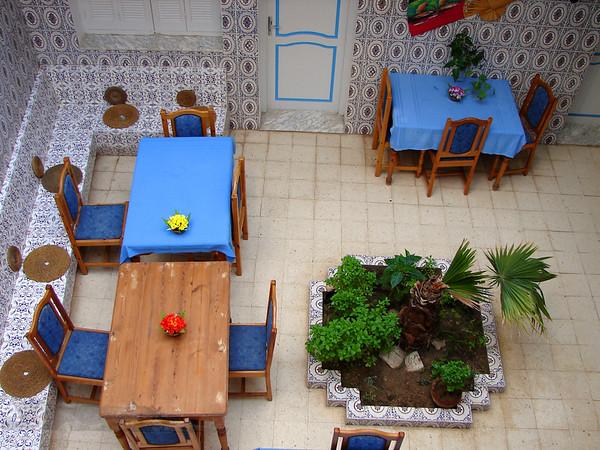Tunisia - Courtyard