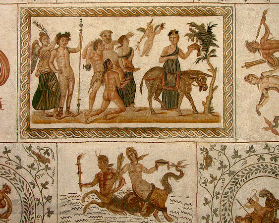 Roman Mosaic - Tunisia
