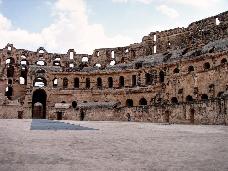 Roman Amphitheatre at El Jem - Tunisia