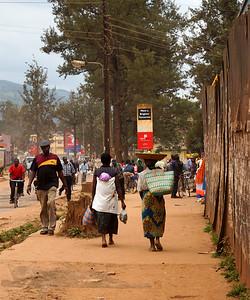 Street Scene - Kabale Kisoro Road - Uganda