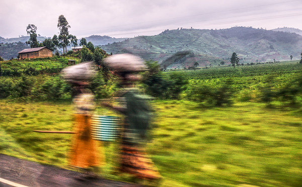 View From a Minibus Window - Uganda
