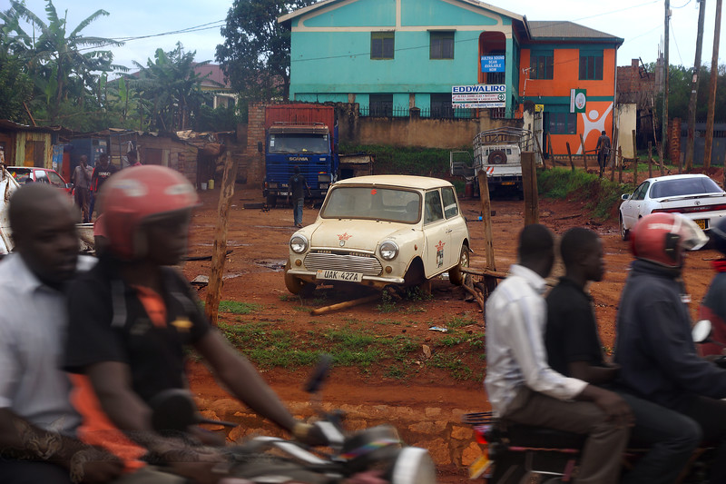 View From a Minibus Window - Kampala