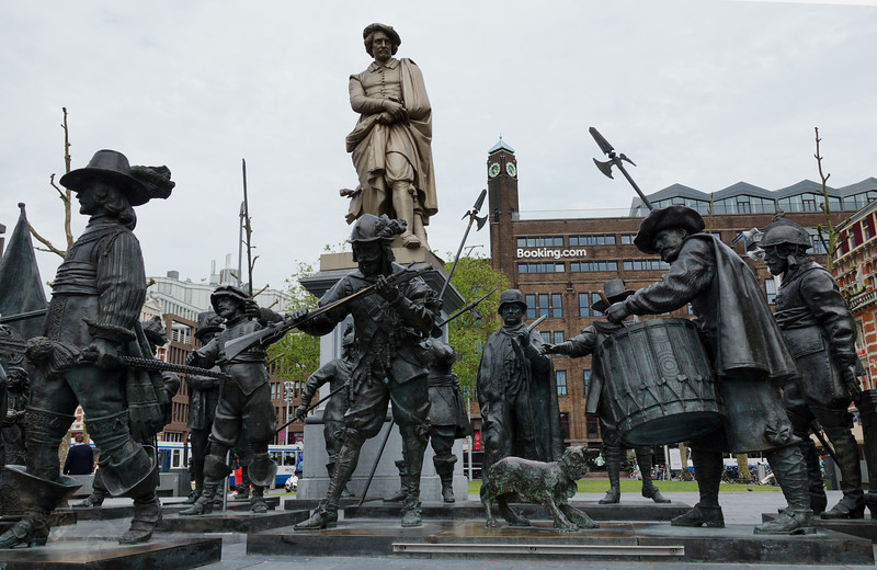Rembrandt Monument, Amsterdam