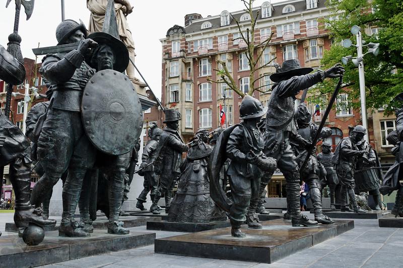 Rembrandt Monument, Amsterdam