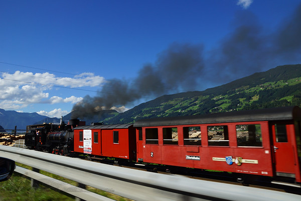 Zell am Ziller - Steam Train