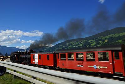 Zell am Ziller - Steam Train