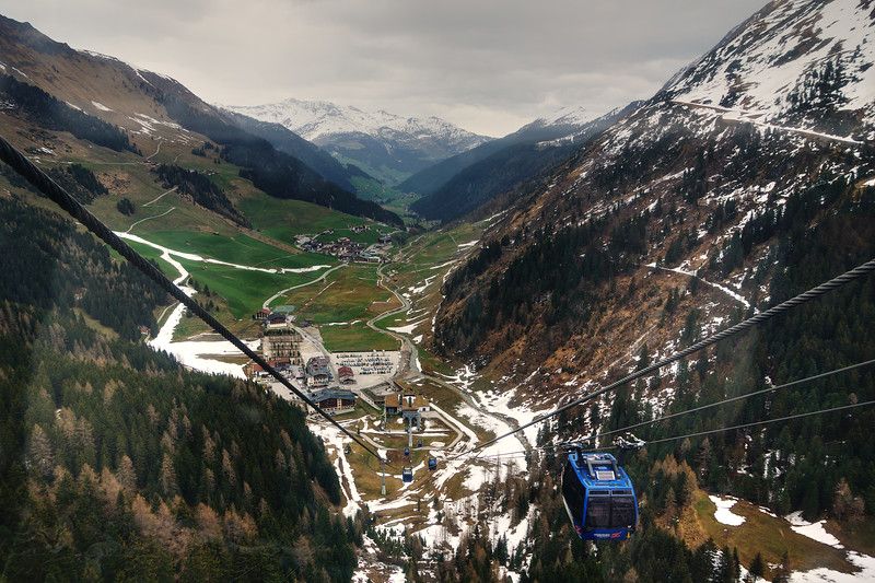 Cable View - Hintertux Glacier