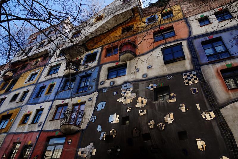 Hundertwasserhaus  - Vienna,