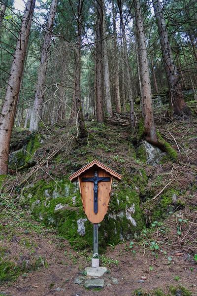Crucifix on a Mountain Pass - Austria