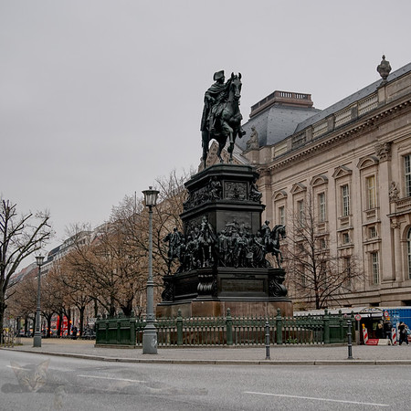 Berlin - Frederick the Great Statue