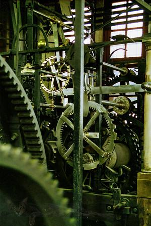 Mechanism in The Belfry of Bruges