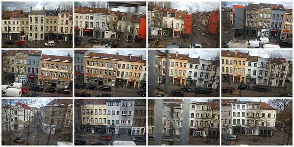 View from a Train Window - Belgium