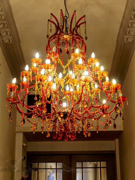 Chandelier in Brussels