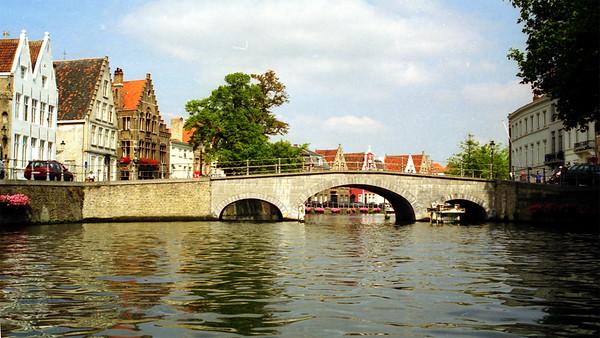 Bridge over a Canal - Bruges