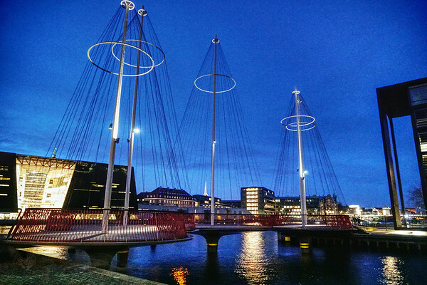 Copenhagen - Circle Bridge - Olafur Eliasson