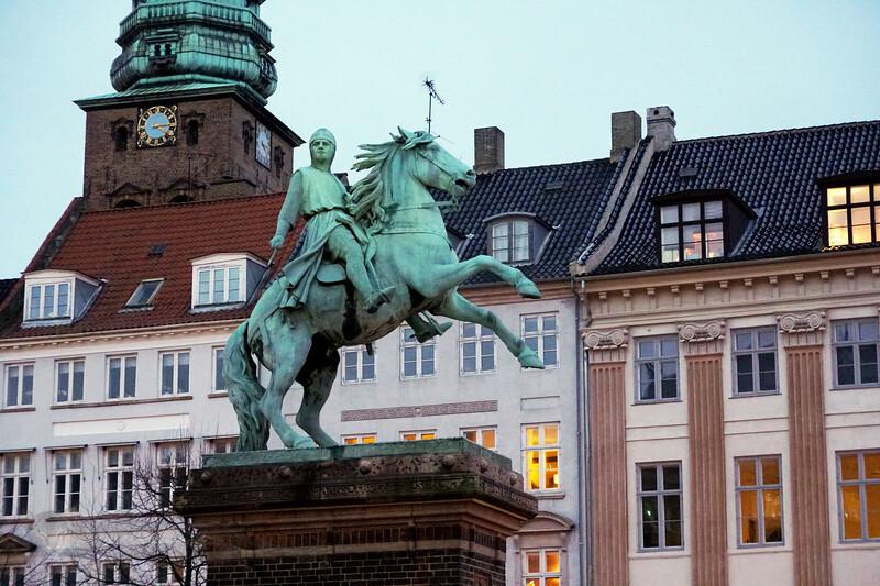 Equestrian Statue - Absalon - by Vilhelm Bissen - Copenhagen