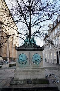 Johannes Ewald and Johan Hermann Wessel Memorial