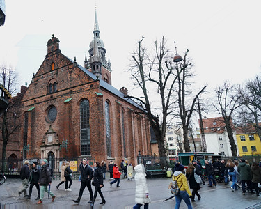 Copenhagen - Church of the Holy Ghost