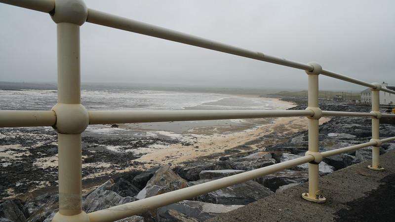 Railings by the Sea