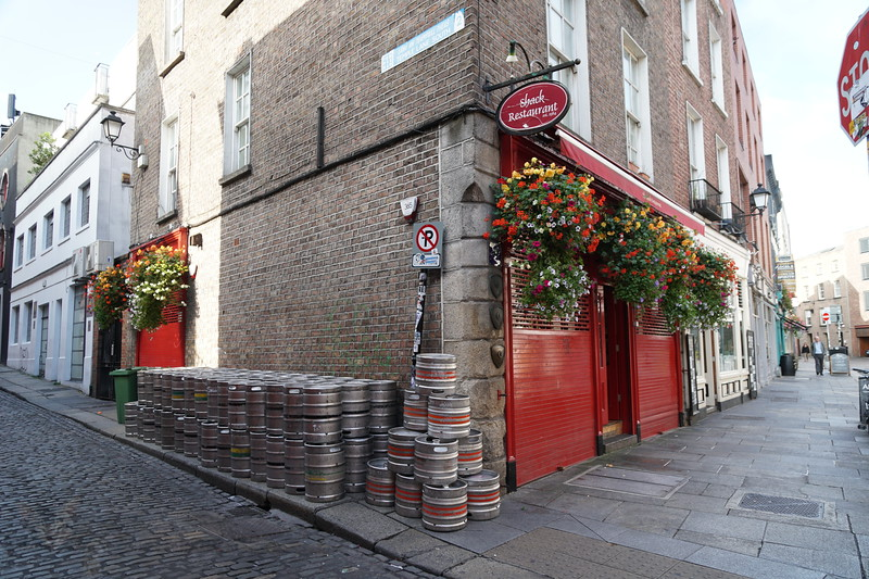 Morning After - Temple Bar - Dublin